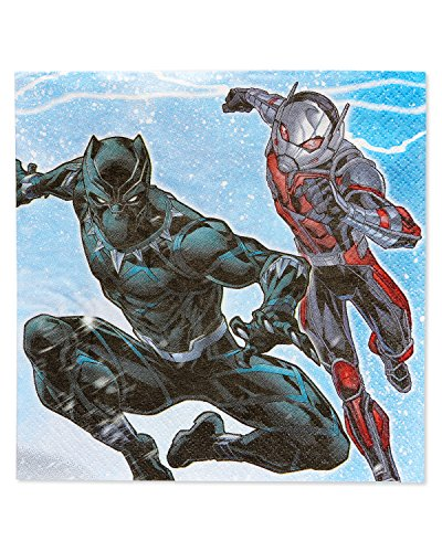 New American Greetings Boys Avengers Epic Lunch Napkins (16 Piece) free shipping