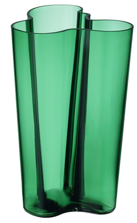 Iittala 004198 Aalto Finlandia Vase, klar, 251 mm mm mm f105f3