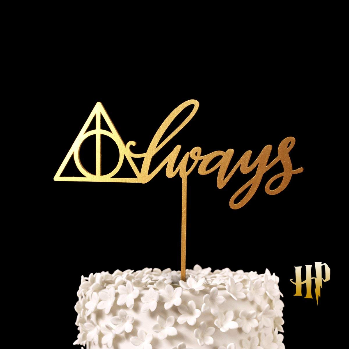 Harry Potter Cake Topper After All This Time Always Cake Sign Hallows
