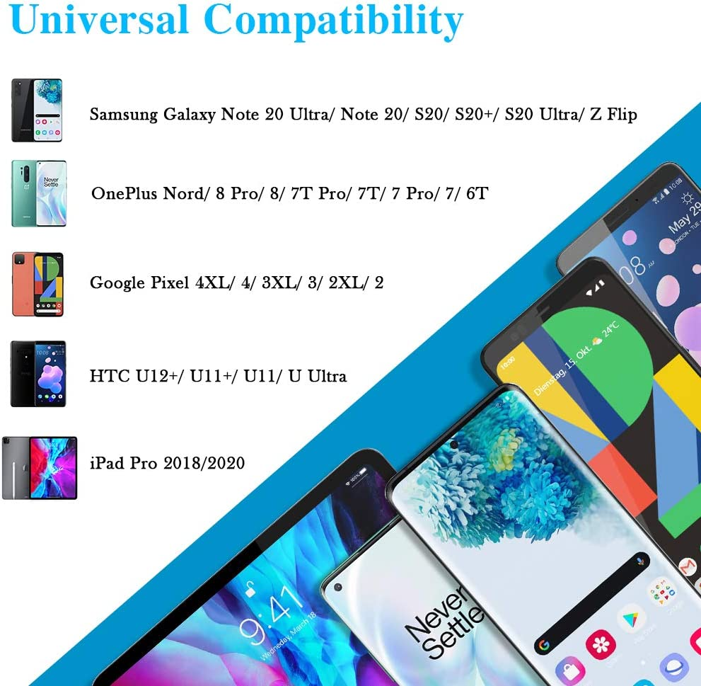 USB C to Headphone Jack Aux Audio Adapter Type C to 3.5mm Earphone DAC Adapter Compatible for Samsung Galaxy S20 FE //Note20 Ultra// Note20// S20 Ultra OnePlus 8T// 8// 7T TITACUTE USB C to 3.5mm Adapter