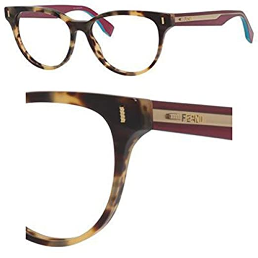 68c85d98526 Amazon.com  Eyeglasses Fendi 164 0VJH Matte Havana Cicl  Clothing
