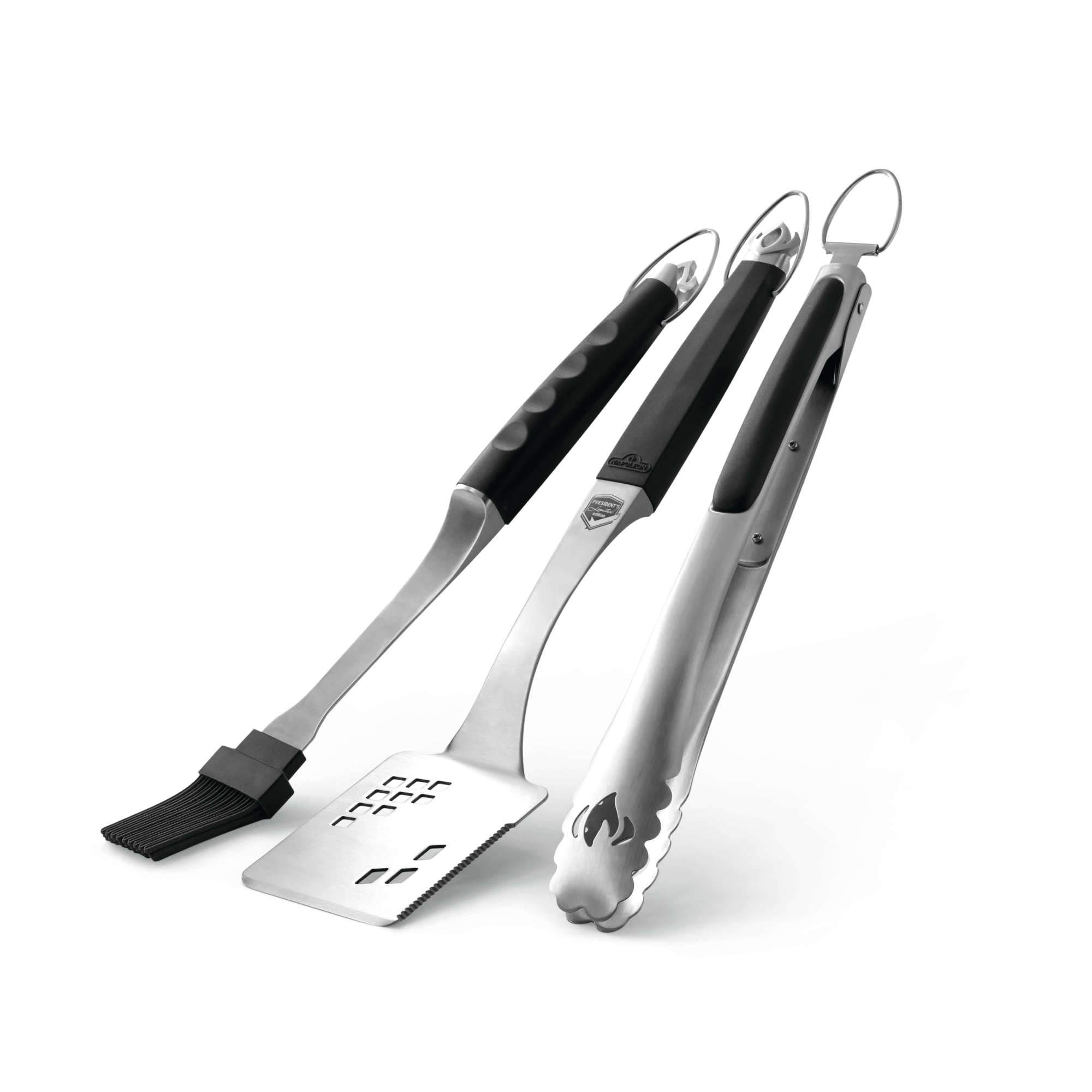 Napoleon 70036 Executive 3 Piece Toolset Grill Tool Set, Multi