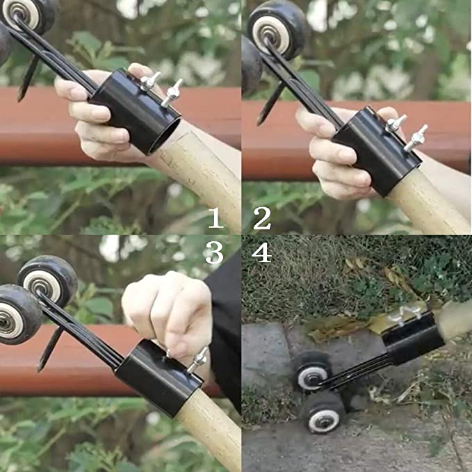 Yimeezuyu Weeds Snatcher Crack and Crevice Weeding Tool Weed Puller Household Helper Garden Tools Stand up Manual Weeder Hand Tool