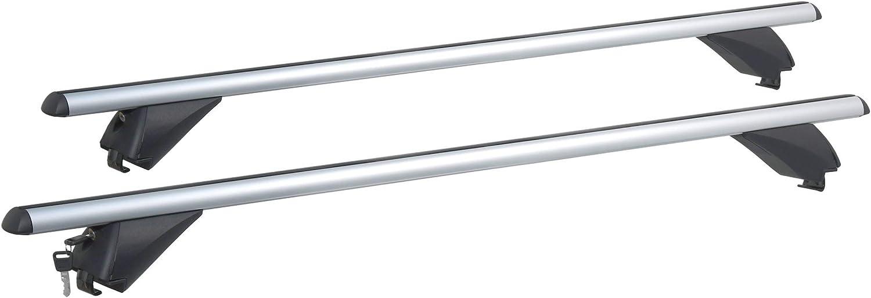 5 Portes VDP RB003 Barres de Toit en Aluminium Compatible avec Opel Mokka \ Mokka X /à partir de 2013