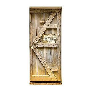 Adesivi per porte in legno adesivo adesivi nuovi Adesivi decorativi per portico in PVC moda