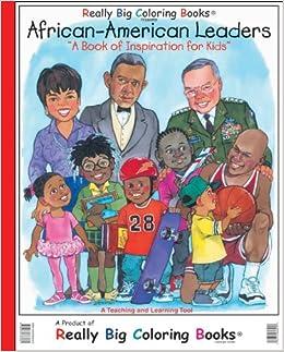 African American Leaders Giant Super Jumbo Coloring Book ...
