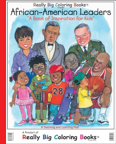 African American Leaders Giant Super Jumbo Coloring Book