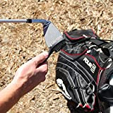 Golf-Brush-and-Club-Groove-Cleaner-Set-with-Divot-Tool-Ball-Marker-Groove-Sharpener-2-Ft-Retractable-Zip-line-Aluminum-Carabiner-Lightweight-Ergonomic-Design-Attaches-Golf-Bags