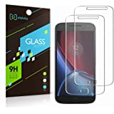 [ 2 Pack ] Moto G4 Plus Screen Protector, Didisky Tempered Glass Screen Protector For Moto G G 4th Plus [Touch Smooth] [Easy to Clean ] 9H (Not For Moto G4 and G4 Play)