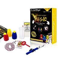 BrilliantMagic Magic Tricks Kit for Kids (Yellow) Kids Magic Tricks Set