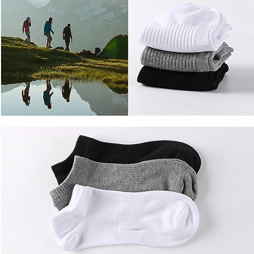 Lot de 6/8/10 paires de socquettes Chaussettes Hommes,Comfortables Respirantes, Socquettes de Sport Unisex coton élasthanne Chaussettes de Sport