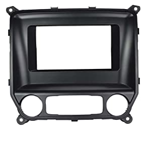 Scosche GM5211B Single/Double DIN Radio Installation Kit for Select 2014-Up Chevrolet/GMC Vehicles (Black)