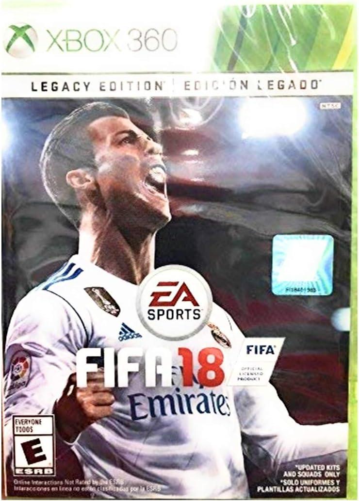 Electronic Arts FIFA 18 Legacy Edition - Xbox 360: Amazon.es ...