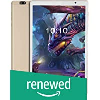 (Renewed) iBall iTAB MovieZ Tablet (10.1 inch, 32GB, Wi-Fi + 4G LTE + Voice Calling | Expandable Memory Up to 256GB), Champagne Gold