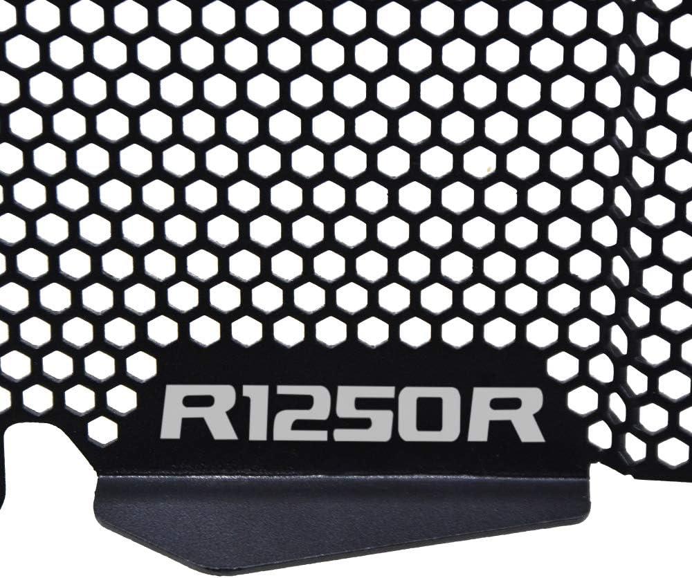 R1250R Moto Couvercle de Grille de Radiateur pour B.MW R1250R 2019 R1250RS 2019 R1250R Sport 2019 R1250R Exclusive 2019-Noir