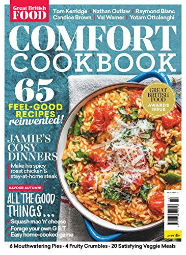 Great British Food Recipe Book: Comfort cookbook by Vesco Inc