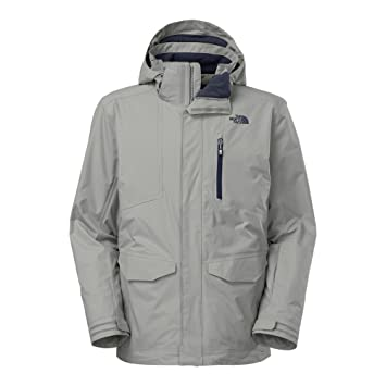 de1e92ec0 The North Face Thermoball Snow Triclimate Parka Mens Monument Grey ...