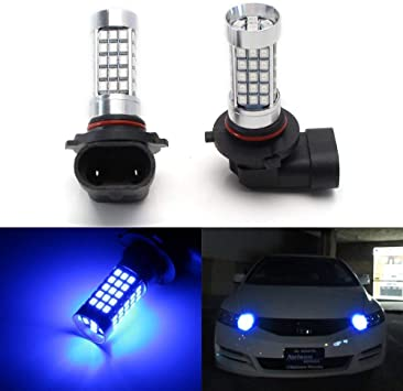 LED 30W 9005 HB3 Blue 10000K Two Bulbs Head Light High Beam Replacement Fit