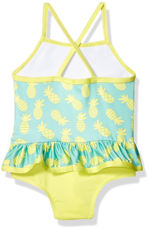 Pink Platinum Baby Girls Pinneapple Print One Piece Swimsuit