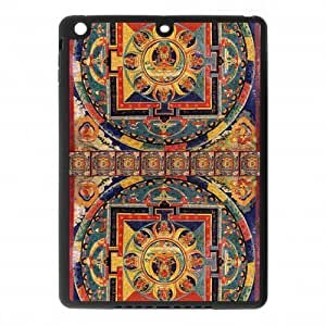 iphone 6 Air Covers TPU Back Protective-Cute Golden Buddha Mandala Pattern Case Perfect as Christmas gift(5)
