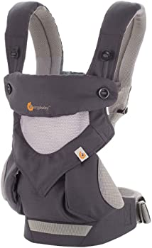 Ergobaby 360 All Carry Positions Ergonomic Cool Air Mesh Baby Carrier