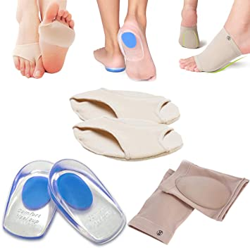 8f8624169f Anti-Pain Forefoot Socks, Pilates Ballet Dance Cushions, Gel Arch Support  Sleeve,