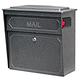 Mail Boss 7175 Townhouse Locking Security Wall Mount Mailbox, Galaxy