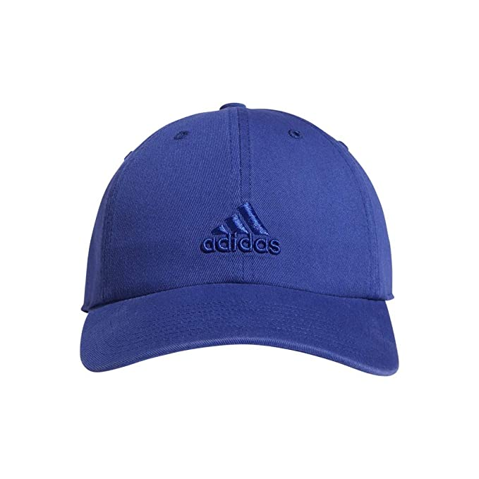 aa0e876eee6c5 Amazon.com: adidas Women's Saturday Cap, Active Blue, ONE SIZE: Clothing