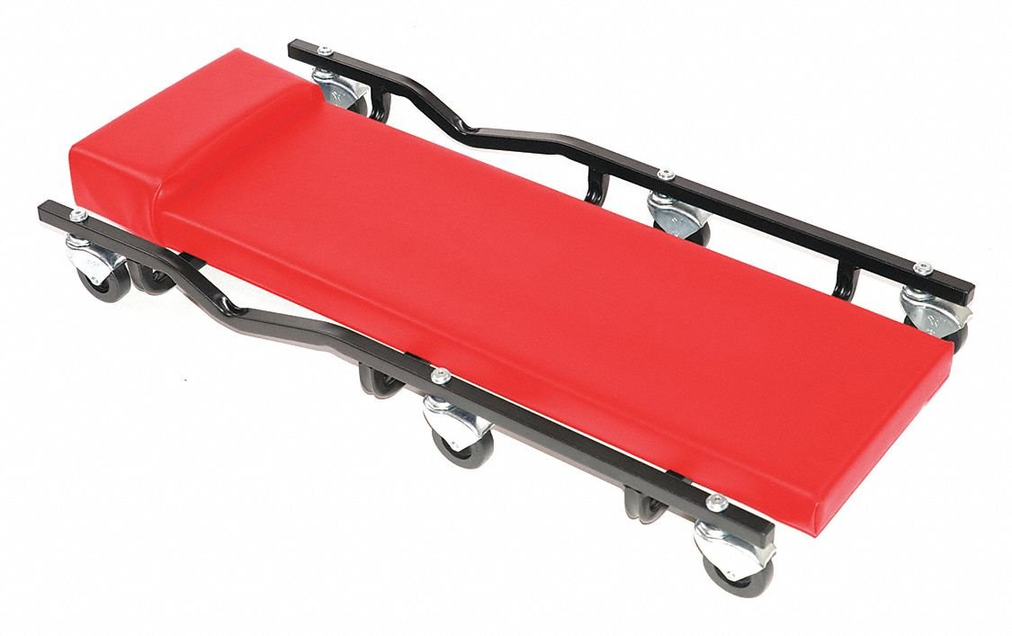 36'' x 17'' Creeper with 6 Wheels and 570 lb. Load Capacity
