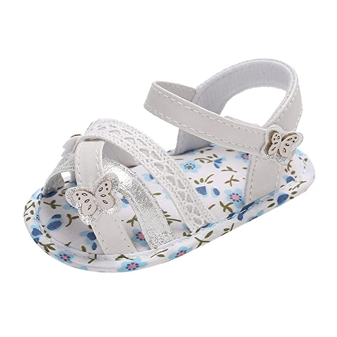 6277e732fcf2b KONFA Toddler Infant Baby Girls Butterfly Floral Sandals Boots,for 0 ...