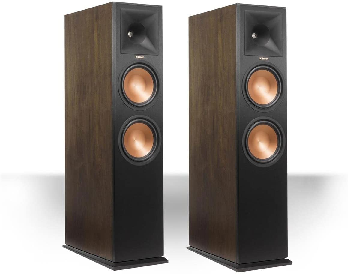 Klipsch RP-280FA Reference Premiere Dolby Atmos Enabled Floorstanding Speaker – Pair Walnut