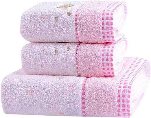 Conjunto de Toallas de algodón Suave Conjunto de Toallas de baño ...