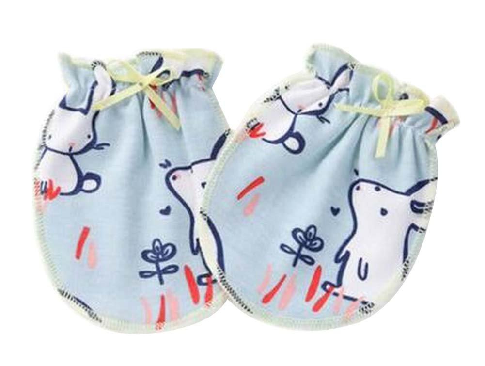[W] 3 Paar Neugeborenen Baby Fäustlinge ohne Kratzer Baumwolle Fäustlinge Black Temptation