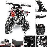 Fit Right DB001 49CC 2-Stroke Kids Dirt Off Road Mini Dirt Bike, Kid Gas Powered Dirt Bike Off Road Motorcycle