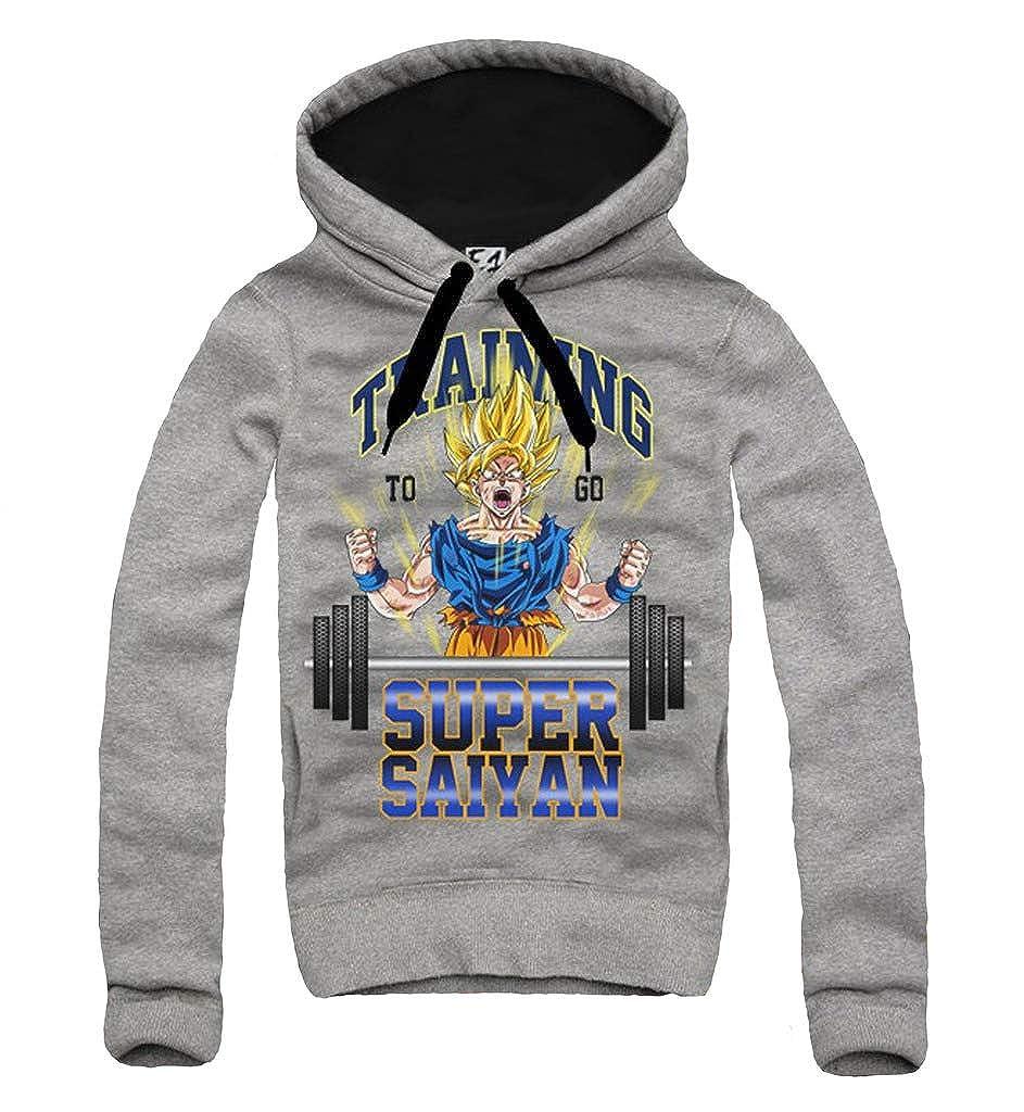 E1Syndicate Hoodie Kapuzenpulli Sweatshirt Training SUPER Saiyan Dragonball Gym