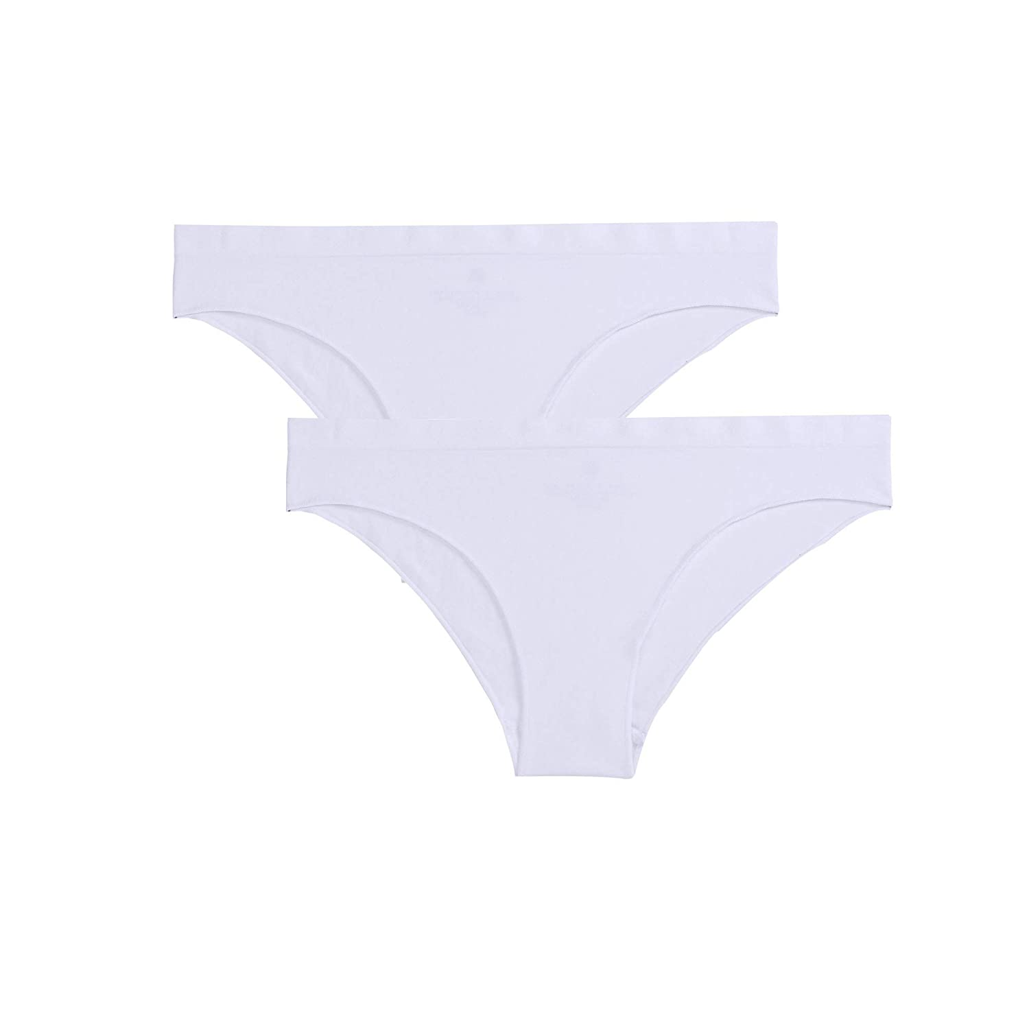 a60012e06 Ruxia Women s Seamless Hipster Panties Comfortable Underwear Stretch Bikini  Panty 5 Pack at Amazon Women s Clothing store