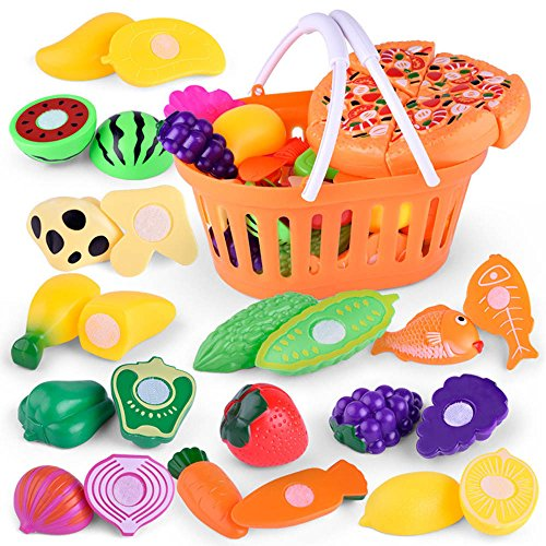 Halloween Kids Pretend Role Play Kitchen Fruit Vegetable