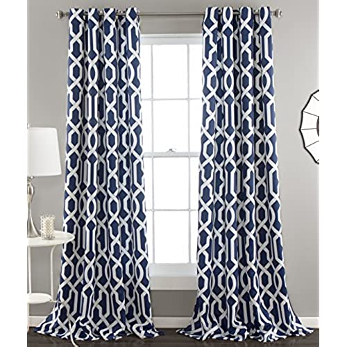 curtains light curtain blue sheer leaves cotton drapes item slow embroidered white soul rideaux and window