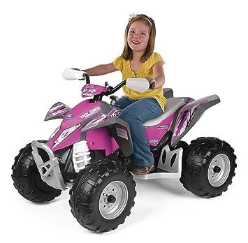 Peg Perego Ride On Toys >> Peg Perego Polaris Outlaw Power Children S Ride On Toy Pink