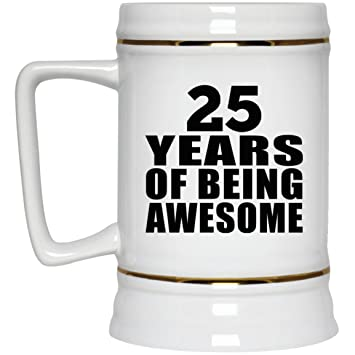 Birthday Gift Idea 25 Years Of Being Awesome