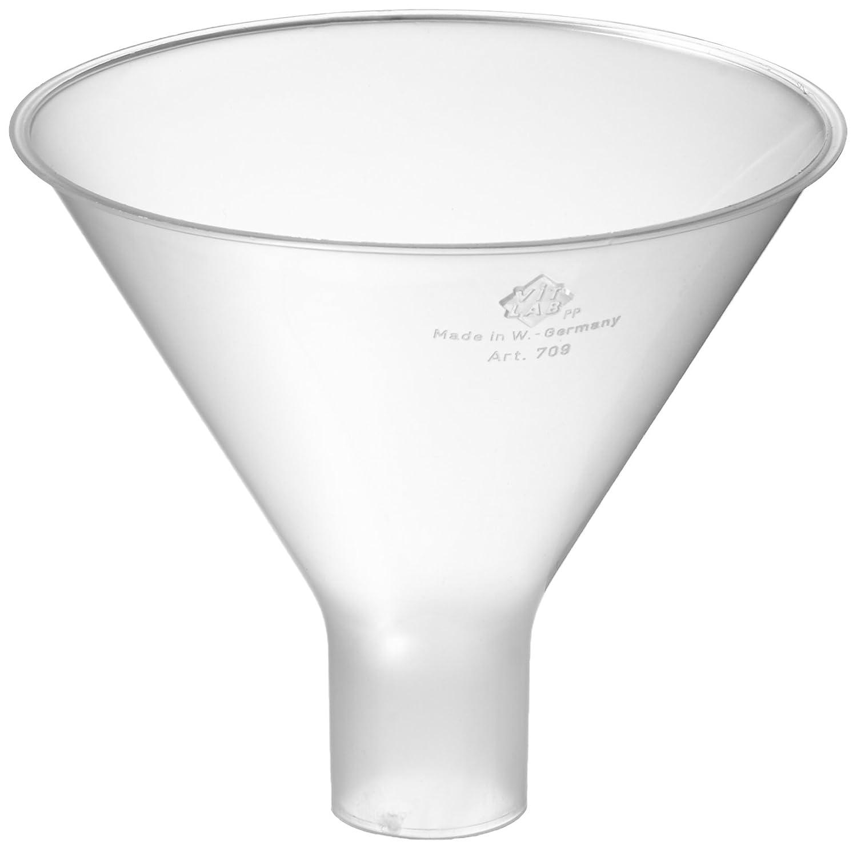 neoLab E-1662 Powder Funnel Polypropylene, 100 mm Diameter, 22 mm Stem Diameter 100mm Diameter 22mm Stem Diameter
