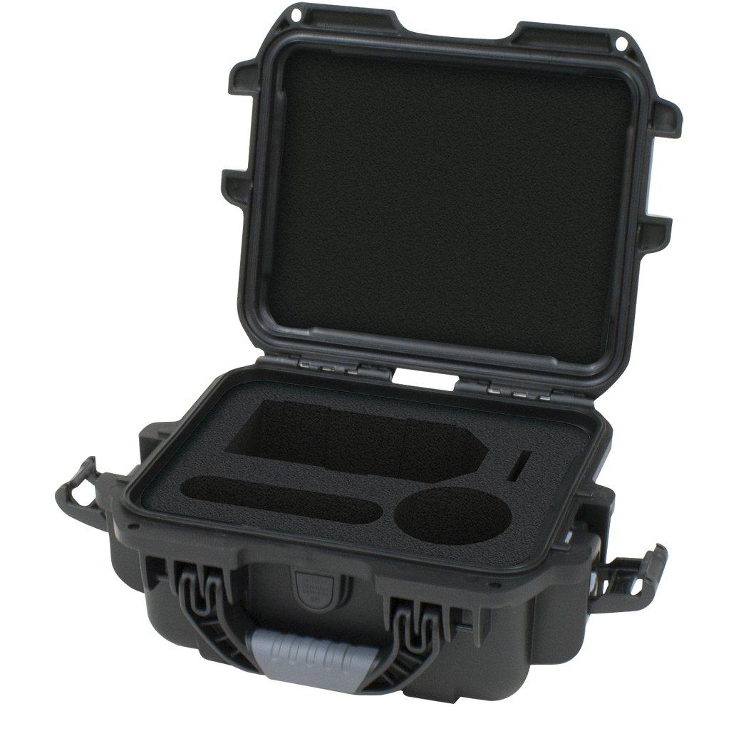 Gator Cases Titan Series Waterproof Hard Case with Custom Insert for Zoom H4N Handheld Recorder & Accessories (GU-ZOOMH4N-WP) by Gator