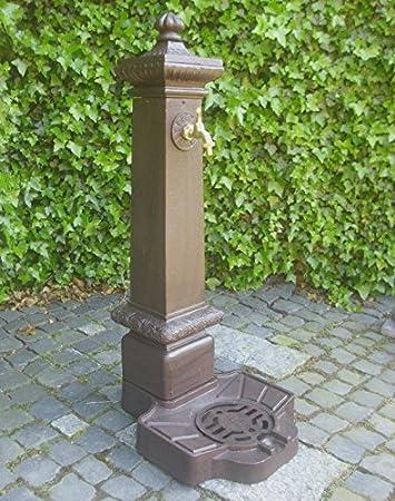 Dr 613 Standbrunnen Saule Brunnen Aluguss Garten Antik Nostalgie
