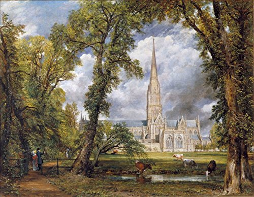 John Constable Salisbury Cathedral from the Bishops Grounds Victoria and Albert Museum - London 30