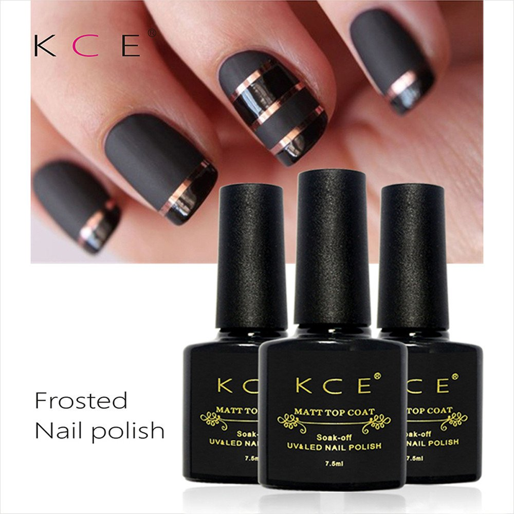 Amazon.com : Changing Effect UV Gel Polish, Fheaven KCE Matte Top ...
