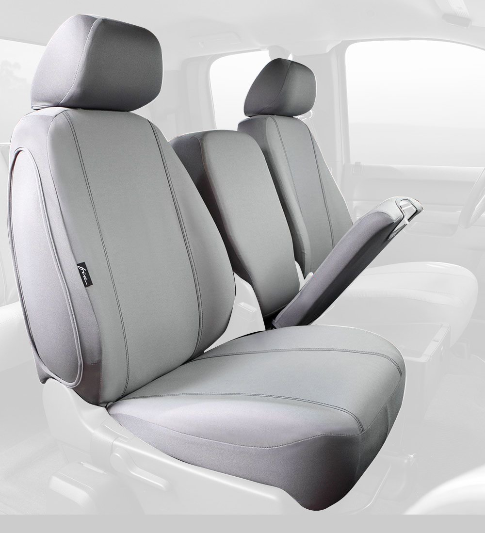 Gray Fia SP89-42 GRAY Custom Fit Front Seat Cover Split Seat 40//20//40 Poly-Cotton,
