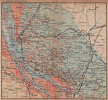 Carte Bordeaux Margaux.Bordeaux Wine Map Carte Vinicole Margaux Bourg Blaye