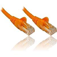 PremiumCord Nätverkskabel, Ethernet, LAN & patchkabel Cat6, UTP, snabb flexibel och robust RJ45-kabel 1Gbit/S, AWG 26/7…
