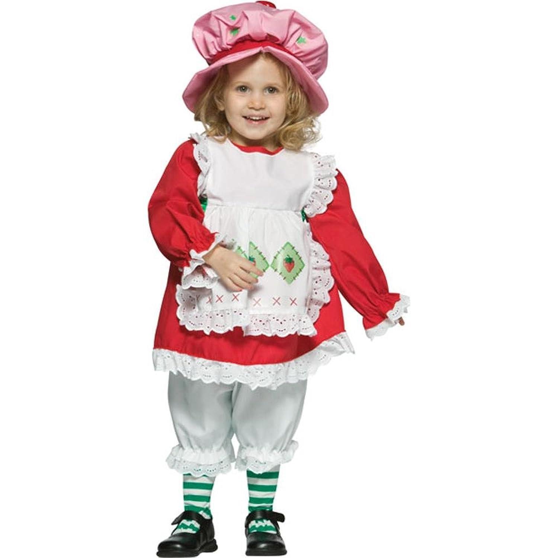 amazoncom baby strawberry shortcake costume size12 24m clothing - Strawberry Halloween Costume Baby