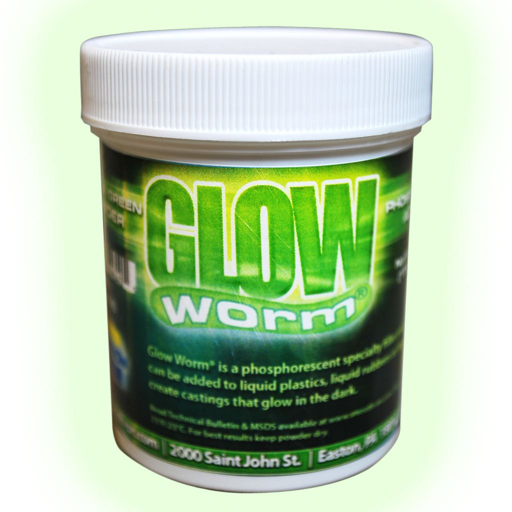 Glow Worm Yellow/Green Glow-In-The-Dark Powder - 6 oz. by Smooth-On